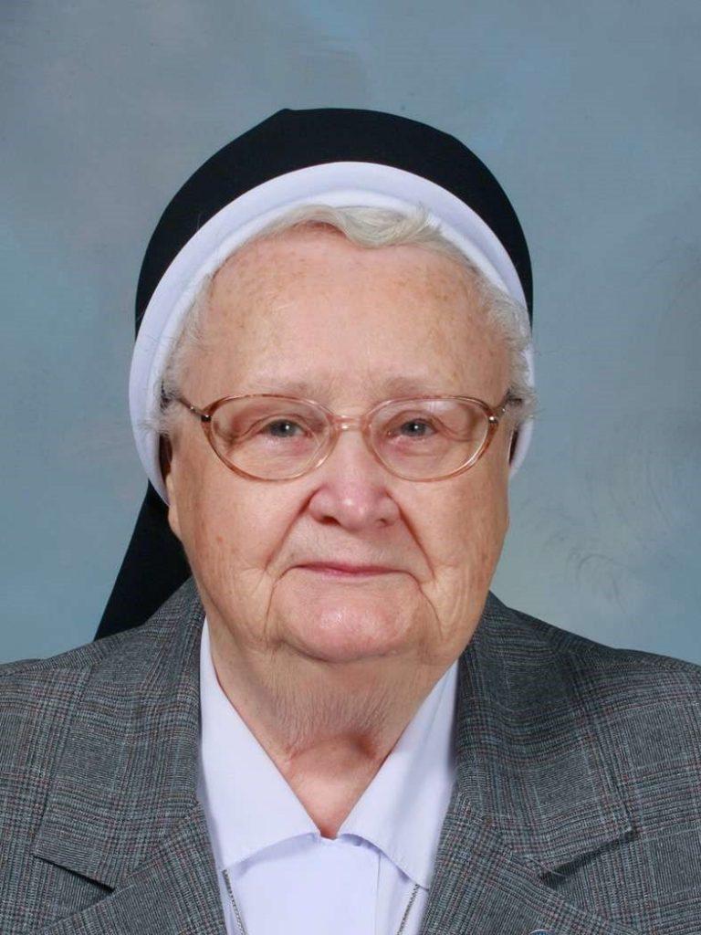 Death Announcement – Sister Francesca Onley